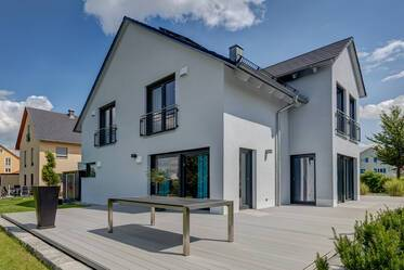 Beautiful, modern 5-room house in Erdweg: luxuriously furnished and spacious