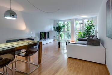 Tastefully furnished 2-room apartment in Munich-Schwabing
