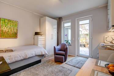 Modern 1-room studio in Neukeferloh
