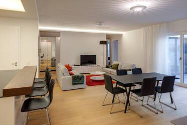 Quiet and modern 3-room apartment in new, high-quality building (from 2015)