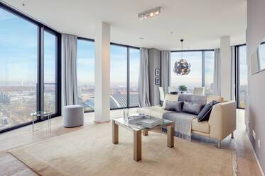 Premium loft apartment: exclusive and high-quality equipment in the FRIENDS Tower 1