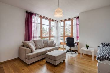 Nicely furnished 1.5-room apartment in Munich Hadern