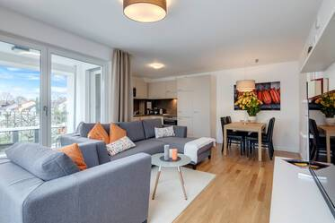 Modern 3-room apartment near U2 Harthof
