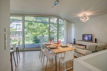 Spacious, exclusively furnished apartment in Nymphenburg-Gern