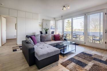 Freimann: Nicely furnished 2-room apartment with good connection to the U-Bahn Freimann