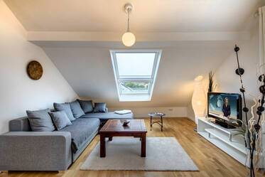 Nicely furnished 2.5- attic apartment  Eching
