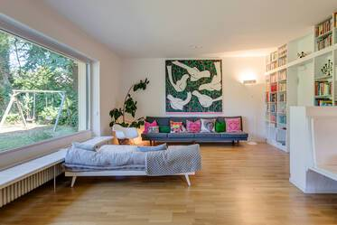 5-room family home with private garden, Munich-Untermenzing