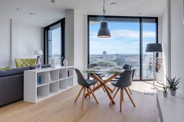 Luxury apartment in the FRIENDS tower