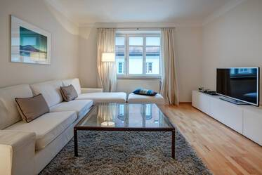 Beautifully furnished 3.5-room apartment in Munich Lehel