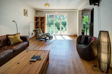 Beautifully furnished, spacious 4-room house in Fürstenried in the southern outskirts of Munich