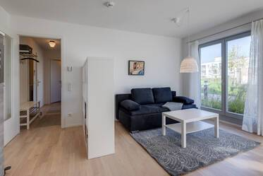 2-room apartment: new building in peaceful residential area