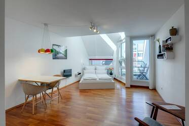 Nicely furnished 1- apartment  München Maxvorstadt