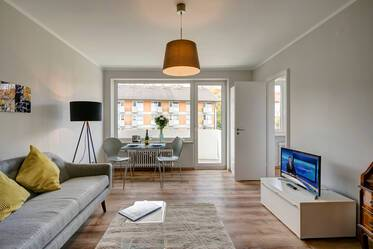 Spacious 1-room apartment (39m²) with excellent traffic connection in Munich-Giesing