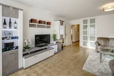 Centrally located 3-room apartment with internet and washing machine