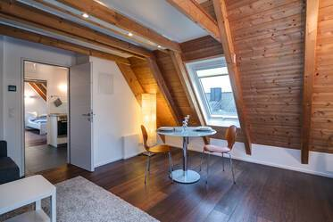 Charming 2-room attic apartment in Munich-Ramersdorf