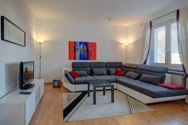 Nicely furnished 2-room apartment in Munich Schwabing-West