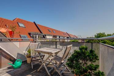 Prime location: Beautiful roof-terrace apartment