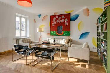 Nicely furnished 3-room apartment in Munich Maxvorstadt