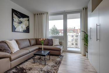 Nicely furnished 1-room apartment in Munich Berg am Laim