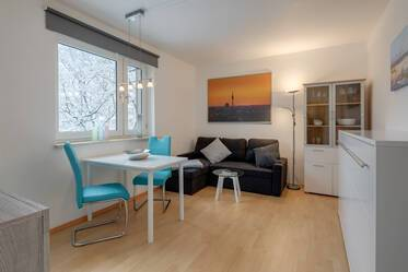 Beautifully furnished studio in Parkstadt Bogenhausen