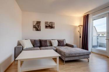Beautifully furnished 2-room apartment in Munich Milbertshofen