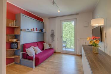 Beautifully furnished 1-room studio in Munich Au-Haidhausen