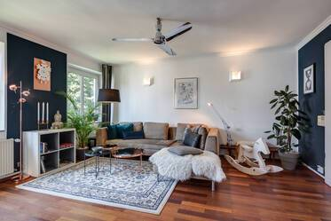 Beautifully furnished 3.5-room apartment in Munich Au-Haidhausen