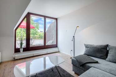 Nicely furnished 2-room apartment in Munich Obersendling