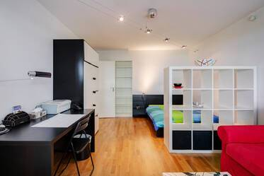 Nicely furnished 1-room apartment in Munich Neuhausen