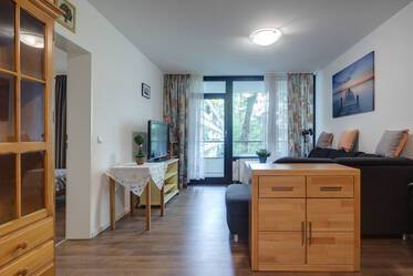 Furnished 2-room apartment with balcony in Munich-Neuperlach