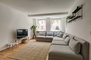 Beautifully furnished 3-room apartment near Rosenheimer Platz and Isar