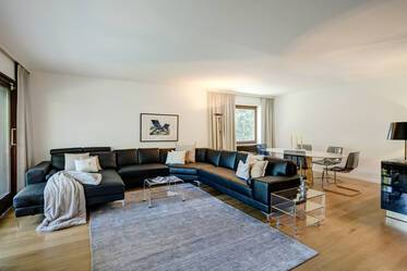 Best location: Premium, high-quality furnished 3-room apartment in Munich-Herzogpark