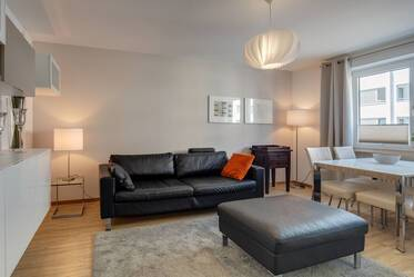Modern, newly renovated and furnished 1.5-room apartment in Munich-Schwanthalerhöhe