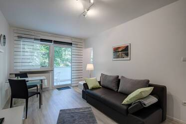 Nicely furnished 1-room apartment in Munich Schwabing-West