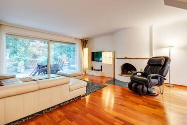 Beautifully furnished 4-room split-level in Munich Harlaching