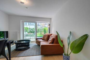 Beautifully furnished 3-room apartment in Munich Nymphenburg