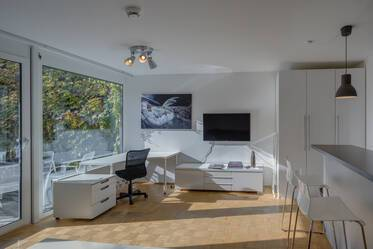 Nicely furnished 1-room apartment in Munich Schwabing
