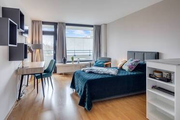 Modern and stylish 1-room apartment in the popular neighborhood of Munich-Haidhausen