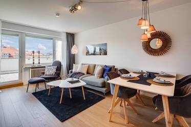 First occupancy after refurnishing: Very beautiful roof terrace apartment in Ludwigsvorstadt