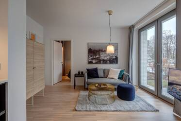 Premium: beautifully furnished 2-room apartment in Munich Maxvorstadt