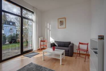 Nicely furnished 3-room apartment in Munich Nymphenburg-Gern