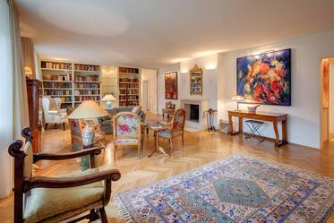 Premium: exclusive, high-quality furnishings 6-room apartment in Munich Harlaching
