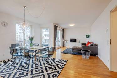 Nicely furnished 3-room apartment in Munich Schwabing-West