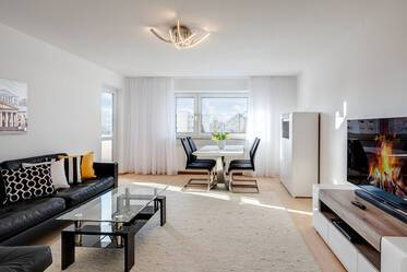 Beautifully furnished 3-room apartment in Munich Johanneskirchen