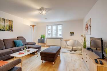 Spacious 2-room apartment in Laim, fully furnished, close to S-Bahn station
