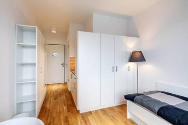 Modern 1-room studio in Munich-Riem