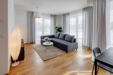 Beautifully furnished 2-room apartment in Munich Perlach