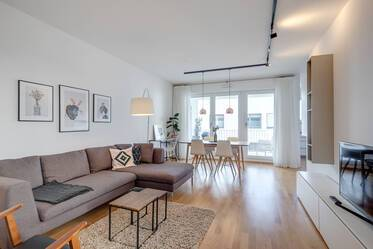 Beautifully furnished 3-room apartment in Munich Aubing