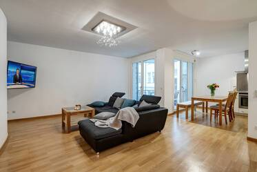 Beautifully furnished 3-room apartment in Munich Ludwigsvorstadt