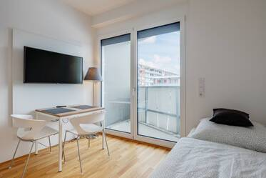 Modern 1-room apartment in Munich-Riem